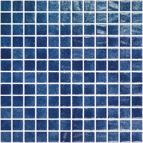 Mosa que bleu piscine p te de verre rue du carrelage - Colle pour mosaique piscine ...
