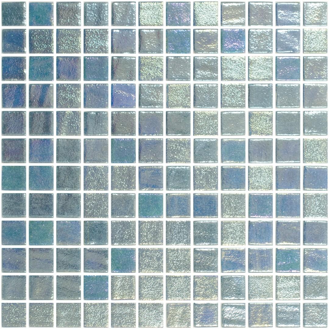Mosaïque bleu turquoise panache pâte de verre | RUE DU CARRELAGE