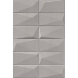 FAIENCE MADIA gris10X20cm