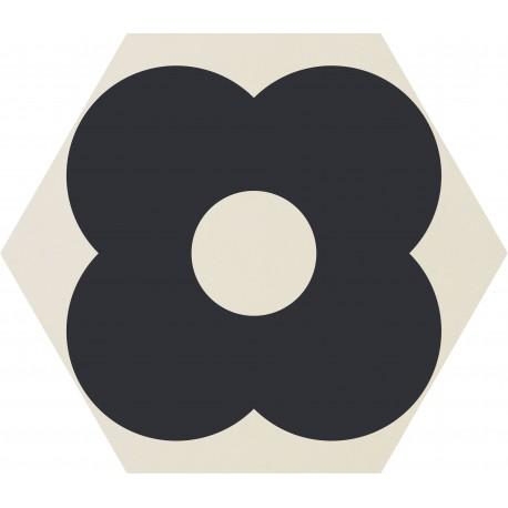 CARRELAGE ORNCOR PETALS WHITE Ø 60