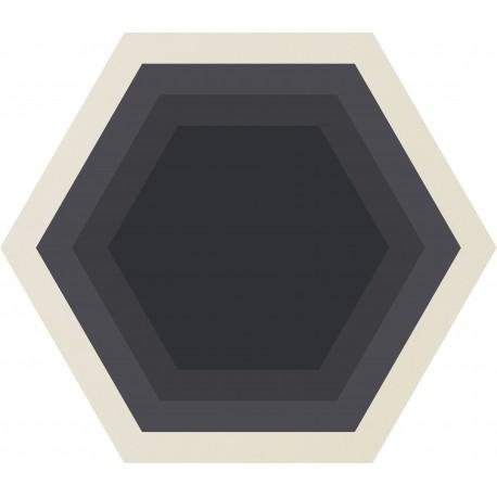 CARRELAGE ORNCOR HONEYCOMB WHITE Ø 60