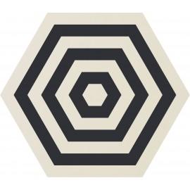 CARRELAGE ORNCOR TARGLET WHITE Ø 60