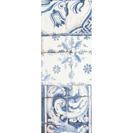 ANTIQUE MED BLUE 25x66