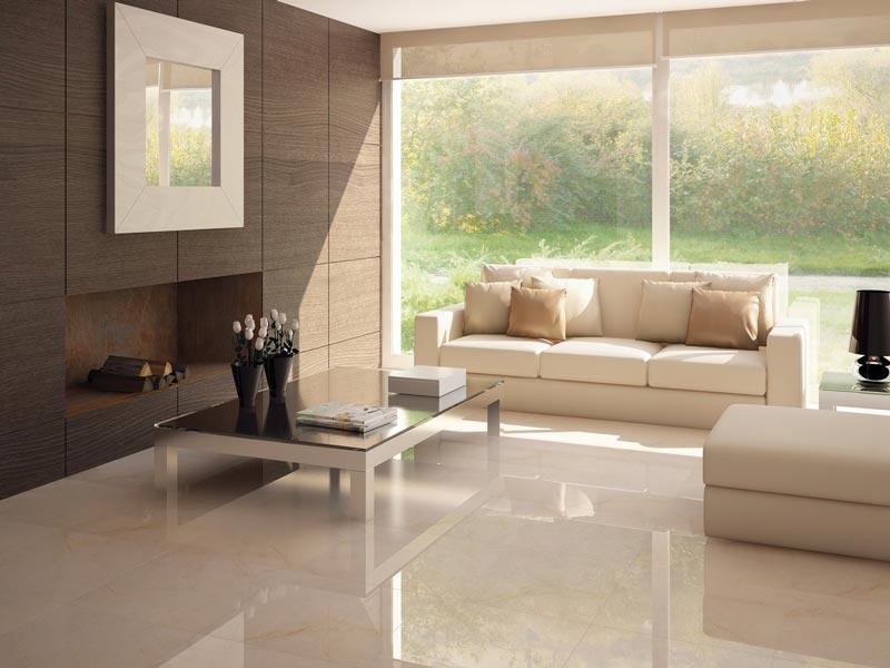 Carrelage 60x60 effet marbre brillant cimit | BEIGE