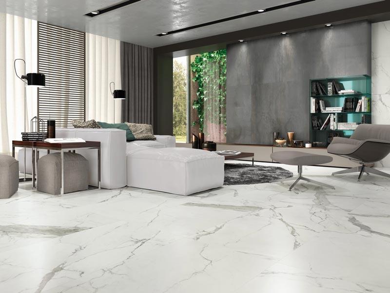 Carrelage 60x120 effet marbre mat cista |GRAND FORMAT