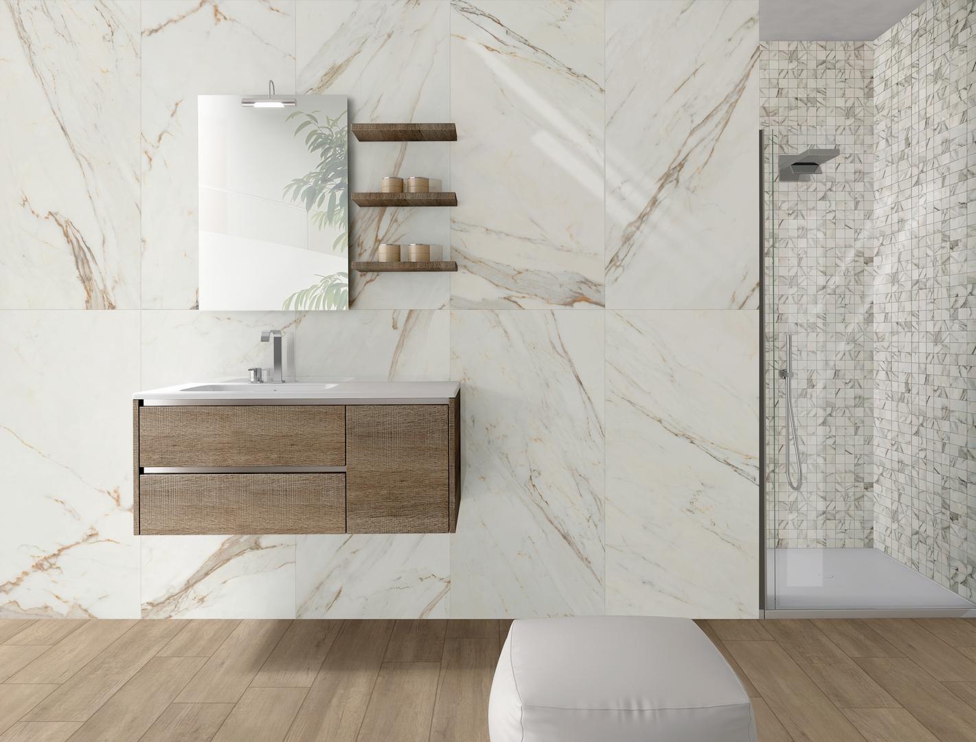 Carrelage Imitation Parquet 30X60 carrelage effet marbre 30x60 brun vision | calacatta
