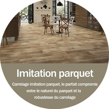 Imitation parquet